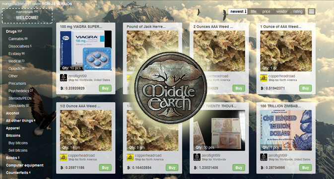 middle earth dark web market