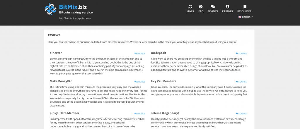 BitMix review screen