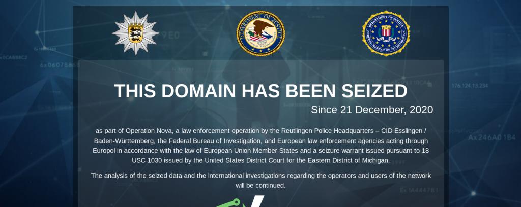 Safe-inet VPN seizure