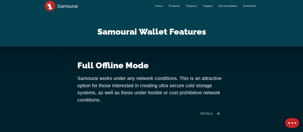 Samourai Wallet Whirlpool