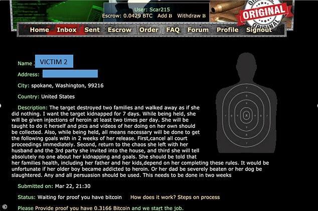Washington State Man hitman